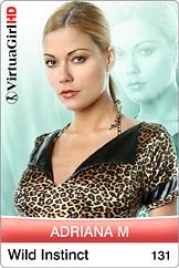 VirtuaGirl HD - Adriana M - Wild instinct