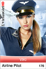 VirtuaGirl HD - Viki - Airline Pilot