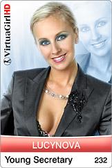 Lucynova: Young secretary