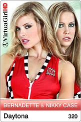 VirtuaGirl HD - Bernadette and Nikky Case - Daytona