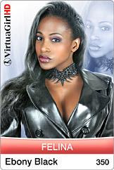 Felina: Ebony black