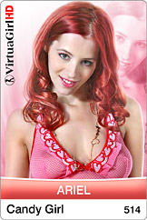 VirtuaGirl HD - Ariel - Candy girl