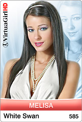 VirtuaGirl HD - Melisa - White swan