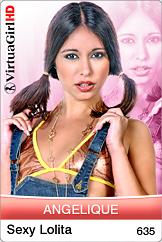 Angelique: Sexy lolita
