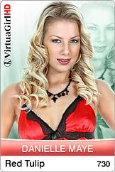 Danielle Maye: Red tulip