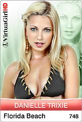 VirtuaGirl HD - Danielle Trixie - Florida beach