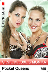 VirtuaGirl HD - Silvie Deluxe and Monika - Pocket queens