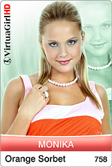 VirtuaGirl HD - Monika - Orange sorbet