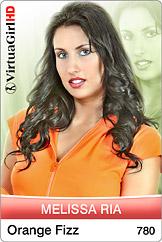 VirtuaGirl HD - Melissa Ria - Orange fizz