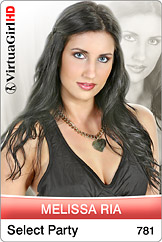 VirtuaGirl HD - Melissa Ria - Select party