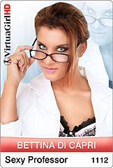 Bettina Di Capri: Sexy Professor