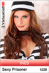 VirtuaGirl HD - Ines - Sexy Prisoner