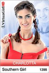 VirtuaGirl HD - Charlotta - Southern Girl