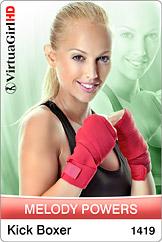 VirtuaGirl HD - Melody Powers - Kick Boxer