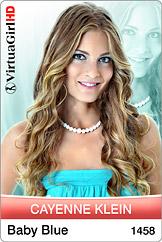 VirtuaGirl HD - Cayenne Klein - Baby Blue