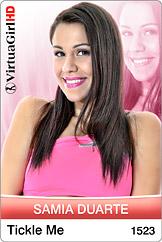 VirtuaGirl HD - Samia Duarte - Tickle me