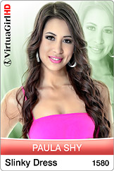 VirtuaGirl HD - Paula Shy - Slinky Dress