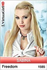 VirtuaGirl HD - Sabina - Freedom