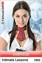 VirtuaGirl HD - Sabrisse - Intimate Lessons