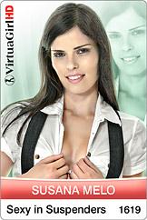 VirtuaGirl HD - Susana Melo - Sexy In Suspenders