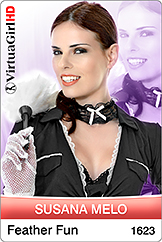 VirtuaGirl HD - Susana Melo - Feather Fun