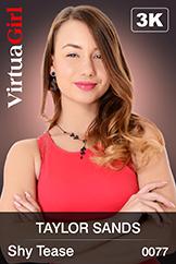 VirtuaGirl HD - Taylor Sands - Shy Tease