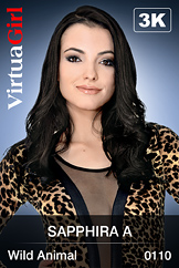 VirtuaGirl HD - Sapphira A - Wild Animal