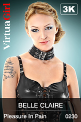 VirtuaGirl HD - Belle Claire - Pleasure In Pain