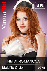 VirtuaGirl HD - Heidi Romanova - Maid To Order