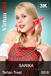 VirtuaGirl HD - Sarika - Tartan Treat