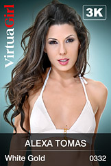 VirtuaGirl HD - Alexa Tomas - White Gold