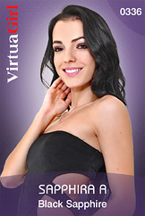 VirtuaGirl HD - Sapphira A - Black Sapphire