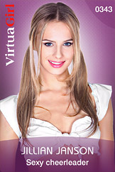 VirtuaGirl HD - Jillian Janson - Sexy cheerleader