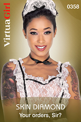 VirtuaGirl HD - Skin Diamond - Your orders, Sir?