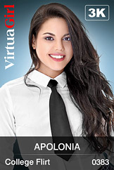 VirtuaGirl HD - Apolonia - College Flirt