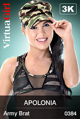 VirtuaGirl HD - Apolonia - Army Brat