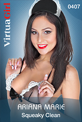 VirtuaGirl HD - Ariana Marie - Squeaky Clean
