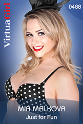 VirtuaGirl HD - Mia Malkova - Just for Fun
