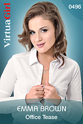 VirtuaGirl HD - Emma Brown - Office Tease