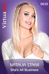 VirtuaGirl HD - Natalia Starr - She's All Business
