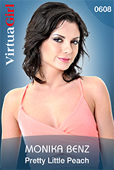 VirtuaGirl HD - Monika Benz - Pretty Little Peach