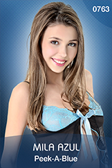 VirtuaGirl HD - Mila Azul - Peek-A-Blue