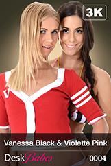 Vanessa Black & Violette Pink/Duo